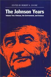 Cover of: The Johnson Years, Volume Two
