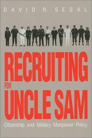 Cover of: Recruiting for Uncle Sam