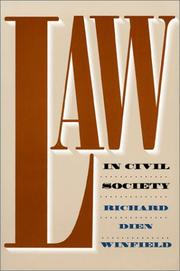 Cover of: Law in civil society