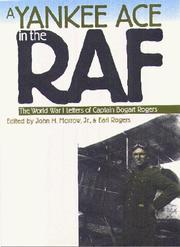 Cover of: Yankee ace in the RAF | Bogart Rogers