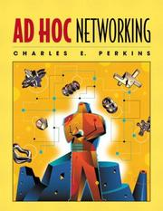 Cover of: Ad Hoc Networking | Charles E. Perkins