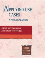Cover of: Applying use cases | Geri Schneider