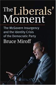 Cover of: The Liberals' Moment