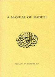 A Manual of Hadith by Muhammad Ali