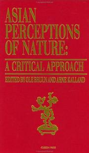Cover of: Asian perceptions of nature |