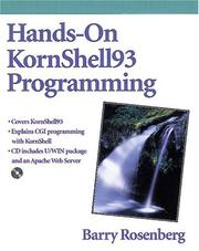 Cover of: Hands-on KornShell93 programming