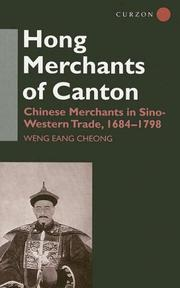 Cover of: The Hong merchants of Canton