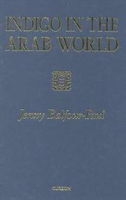 Cover of: Indigo in the Arab world