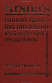 Cover of: Kṛṣṇa's round dance reconsidered