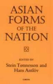 Cover of: Asian Forms of the Nation (Nias Studies in Asian Topics , No 23) | S. Tonnesson