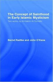 Cover of: The concept of sainthood in early Islamic mysticism