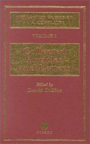 Cover of: The collected works of M.A. Czaplicka