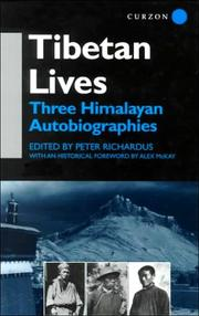 Cover of: Tibetan Lives