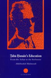 Cover of: Ṭāhā Ḥusain's education
