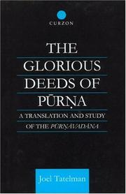 Cover of: glorious deeds of Pūrṇa | Joel Tatelman
