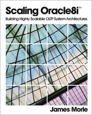 Cover of: Scaling Oracle8i | James Morle