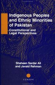 Cover of: Indigenous peoples and ethnic minorities of Pakistan by Shaheen Sardar Ali