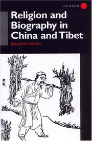 Cover of: Religion and Biography in China and Tibet
