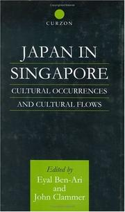 Cover of: Japan in Singapore | Eyal Ben-Ari