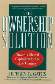 Cover of: The ownership solution