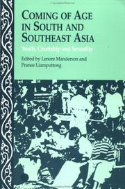 Cover of: Coming of age in South and Southeast Asia