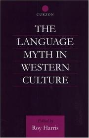 Cover of: The Language Myth in Western Culture