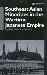 Cover of: Southeast Asian Minorities in the Wartime Japanese Empire