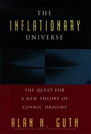 Cover of: The Inflationary Universe | Alan H. Guth