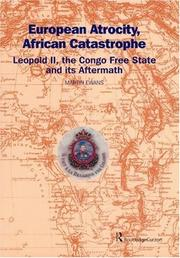 Cover of: European Atrocity, African Catastrophe