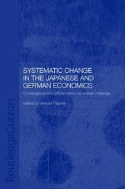 Cover of: Systemic change in the Japanese and German economies | Werner Pascha