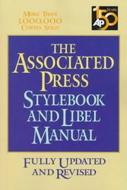 Cover of: The Associated Press Stylebook and Libel Manual