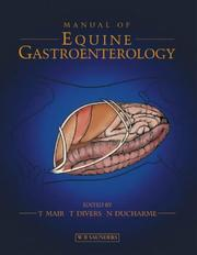 Cover of: Manual of Equine Gastroenterology | Tim Mair