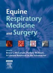 Cover of: Equine Respiratory Medicine and Surgery |