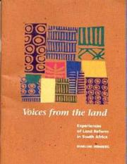 Cover of: Voices from the Land