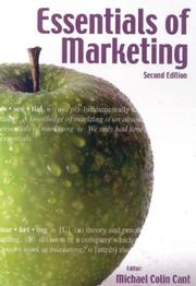 Cover of: Essentials of Marketing | Michael Colin Cant