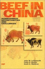 Cover of: Beef in China