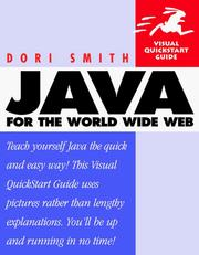 Cover of: Java for the World Wide Web