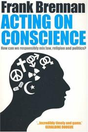 Cover of: Acting on Conscience