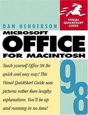 Cover of: Microsoft Office 98 for Macintosh