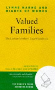 Cover of: Valued Families