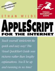 Cover of: AppleScript for the Internet