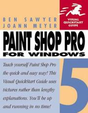 Cover of: Paint Shop Pro 5 for Windows