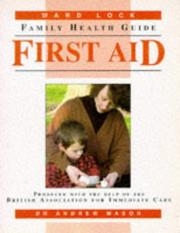 Cover of: First aid