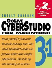 Cover of: GoLive CyberStudio 3.1 for Macintosh
