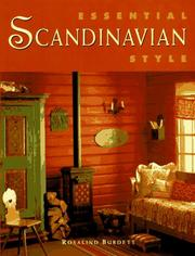 Cover of: Essential Scandinavian style