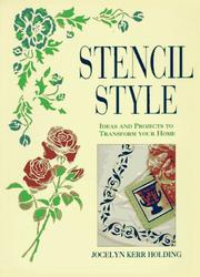 Cover of: Stencil Style