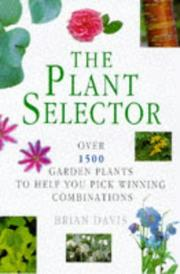 Cover of: The plant selector