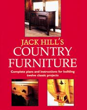 Cover of: Jack Hill's country furniture