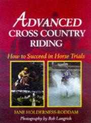Cover of: Advanced Cross Country Riding | Jane Holderness-Roddam