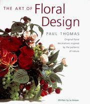 Cover of: The art of floral design | Thomas, Paul